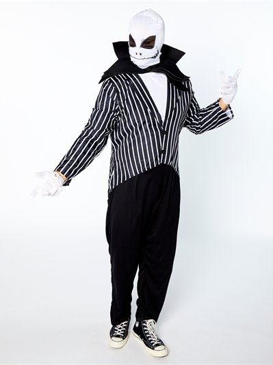 Mr Skeleton - Adult Costume