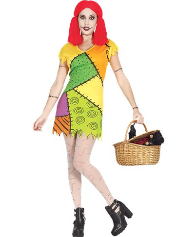 Rag Doll - Adult Costume front
