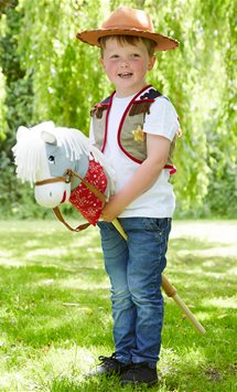 Hobby Horse Cowboy Set - Child Costume
