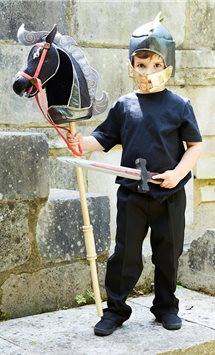 Hobby Horse Knight Set - Child Costume