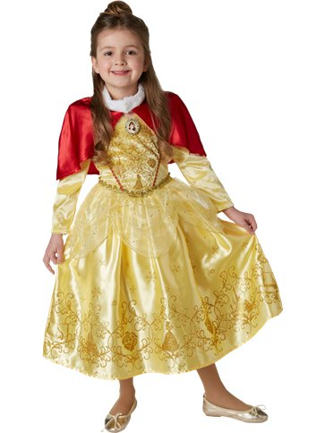Disney Belle Deluxe - Child Costume front