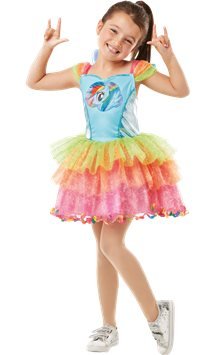 My Little Pony Rainbow Dash Deluxe - Child costume