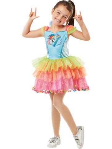 My Little Pony Rainbow Dash Deluxe - Child costume front