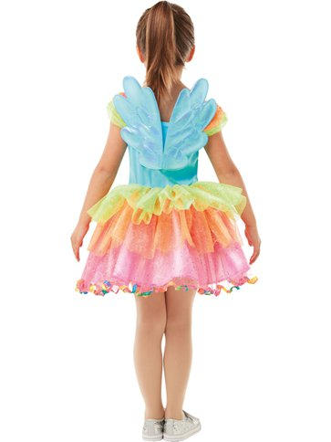 My Little Pony Rainbow Dash Deluxe - Child costume left