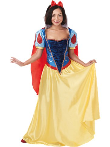 Disney Snow White Deluxe - Adult Costume front