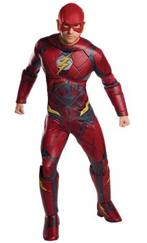 The Flash Deluxe Muscle Chest - Adult Costume