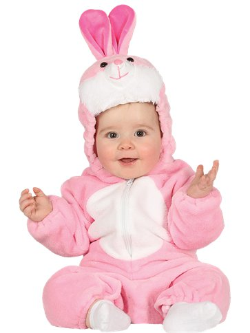 Pink Bunny - Baby and Toddler Costume front