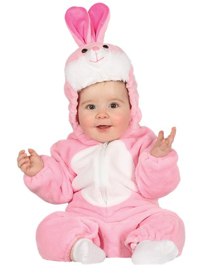 Pink Bunny - Baby and Toddler Costume
