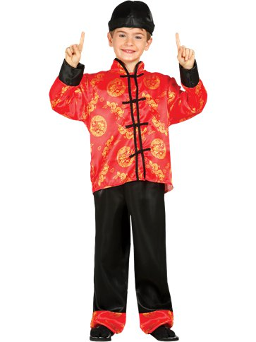 Chinese Boy - Child Costume front