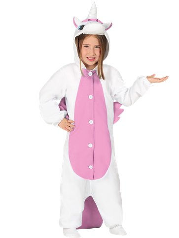 Unicorn Pink Onesie - Child Costume front