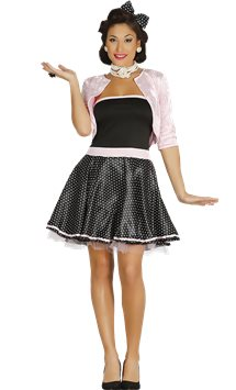 1950's Dress - Adult Costume