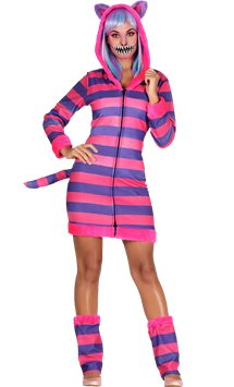 Striped Cat - Adult Costume