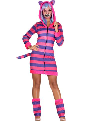 Striped Cat - Adult Costume front
