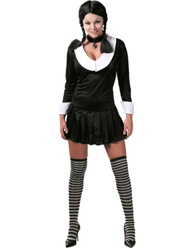 Gothic School Girl - Adult Costume. | Party Delights