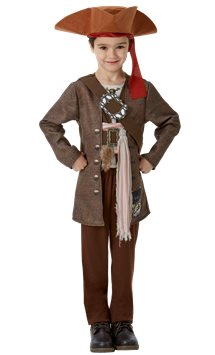 Jack Sparrow Deluxe - Child Costume