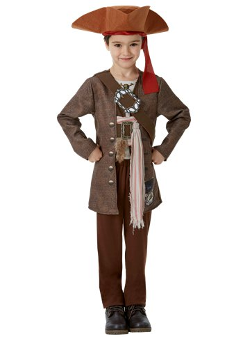 Jack Sparrow Deluxe - Child Costume front