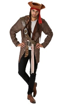 Jack Sparrow - Adult Costume