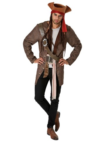 Jack Sparrow - Adult Costume front