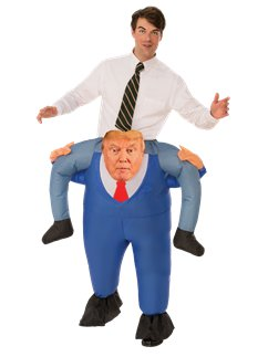 President Piggy Back - Adult Costume