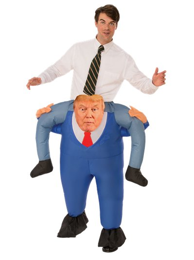 Piggyback President - Adult Costume
