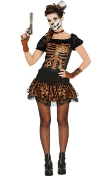 Steampunk Skeleton - Adult Costume