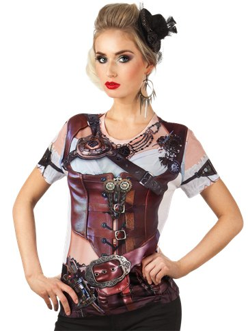 Mrs Steampunk - Adult Costume front