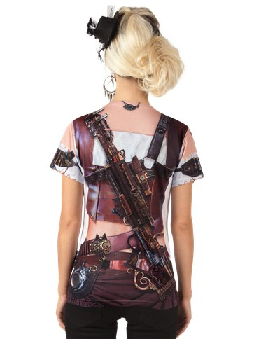 Mrs Steampunk - Adult Costume left