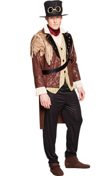 Captain Steampunk - Adult Costume