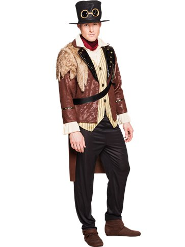 Captain Steampunk - Adult Costume front