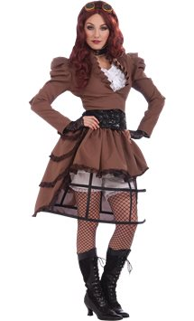 Steampunk Vicky - Adult Costume