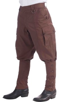 Steampunk Trousers - Adult Costume