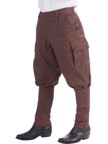 Steampunk Trousers - Adult Costume front