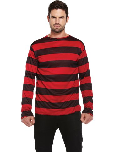 Striped Jumper - Adult Costume front