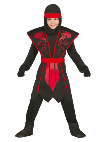 Shadow Ninja - Child Costume front