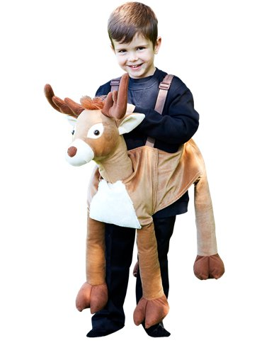Ride on Reindeer - Child Costume front