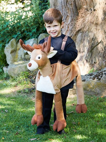 Ride on Reindeer - Child Costume left