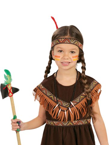Native American Girl - Child Costume back