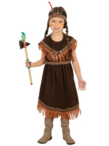 Native American Girl - Child Costume front