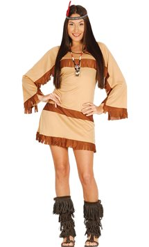 Native American Woman - Adult Costume