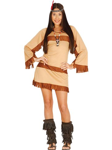 Cherokee Woman - Adult Costume front