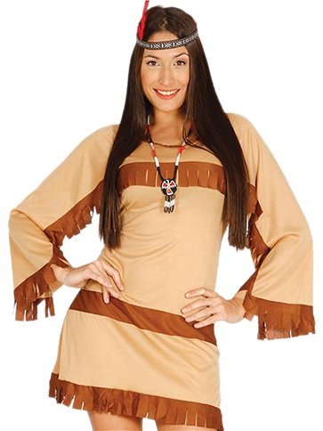 Cherokee Woman - Adult Costume left