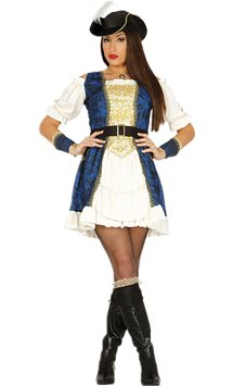 Luxury Pirate Captain - Adult Costume