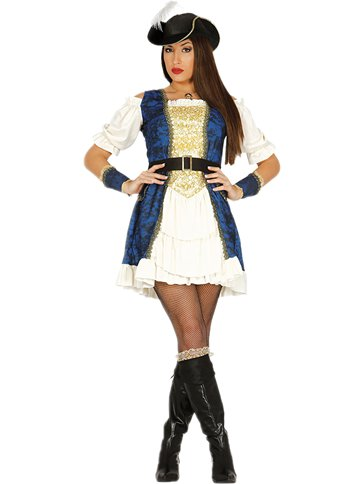 Luxury Pirate Captain - Adult Costume front
