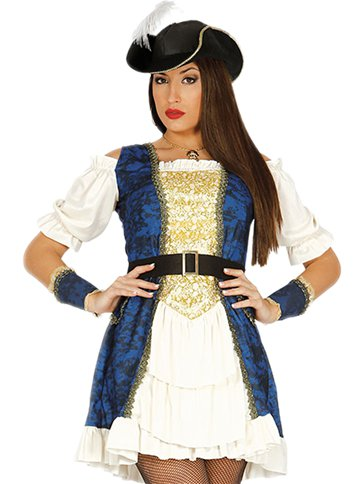 Luxury Pirate Captain - Adult Costume left