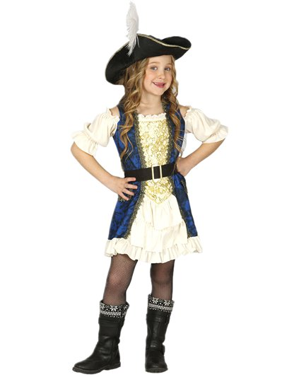 Luxury Pirate Captain - Child Costume