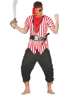 Overseas Pirate - Adult Costume