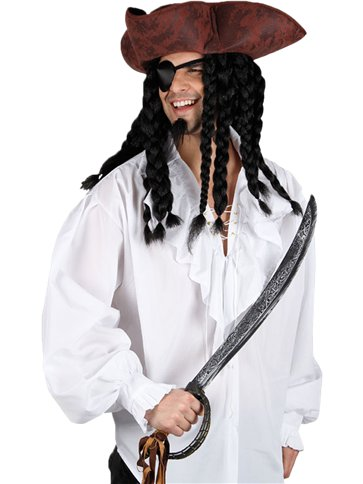 Pirate Shirt - Adult Costume back