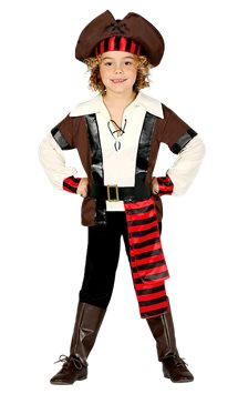 Seven Seas Pirate - Child Costume