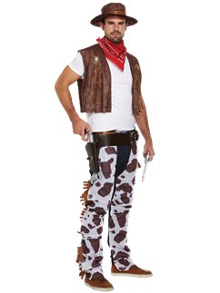 Cowboy - Costume adulto