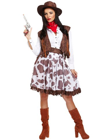 Cowgirl - Adult Costume front